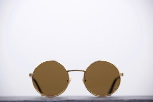 Saint Laurent SL 136 Zero Brush Gold-1