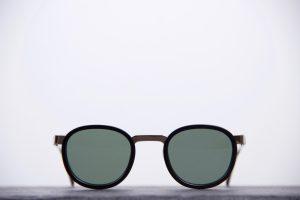 Sunglasses RLR, Robert La Roche RLRS 528T Eldric Gold & Black, Optique 27, Aix-en-Provence.