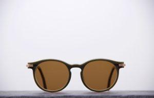 Sunglasses Plasticdelux Second S kaki-1