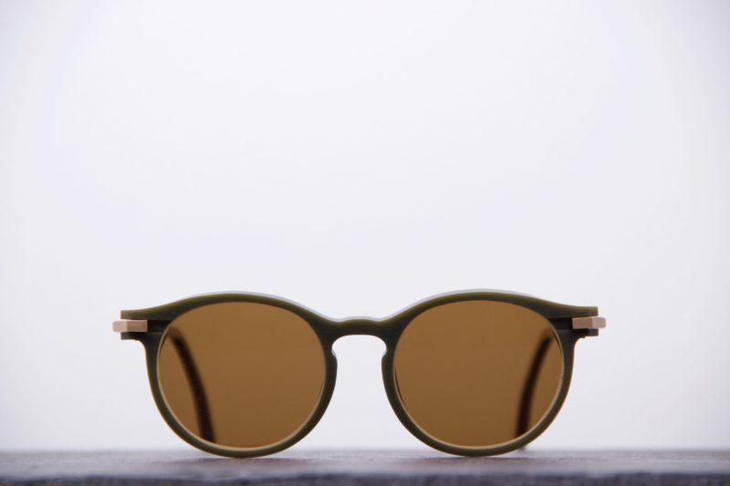 Sunglasses Plasticdelux Second S kaki-1