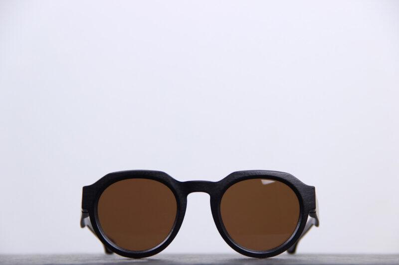 Klenze and Baum lunette de soleil noire pantos