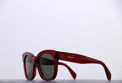 lunette de soleil celine rouge