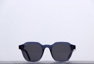 dick moby lunettes soleil retro carrees bleu