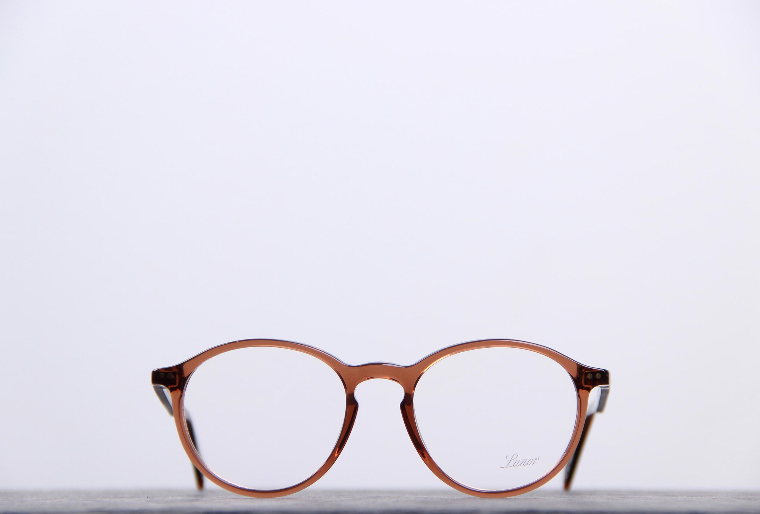 lunor lunettes vue pantos cognac