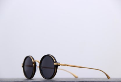lunette soleil homme ronde masunaga