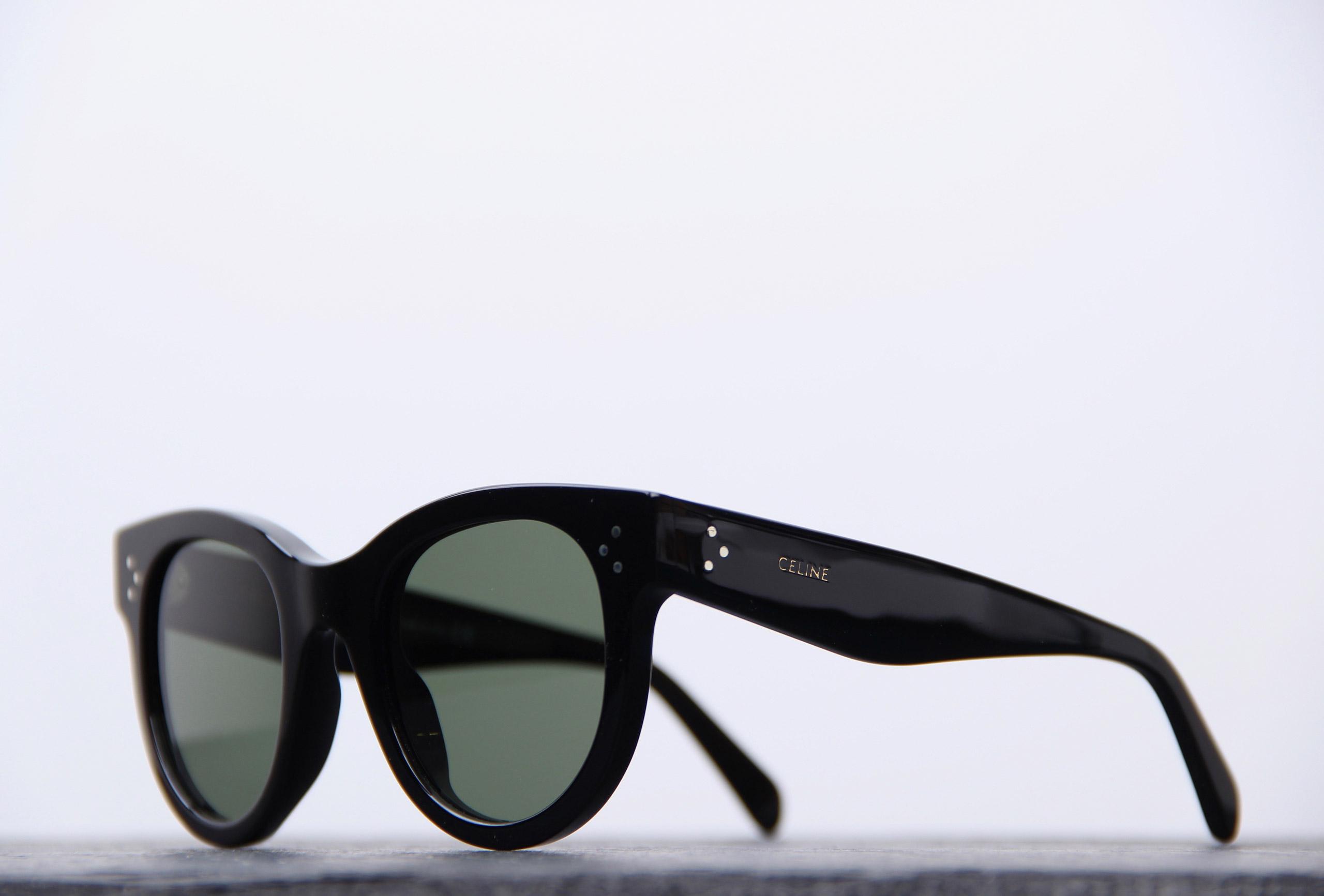 celine lunettes oeil de chat noires